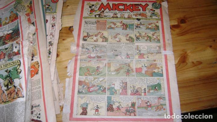 Tebeos: REVISTA MICKEY MOLINO AÑOS 30 LOTE DE SUELTOS VER DESCRIPCION SOFABIBLIO - Foto 9 - 146597654