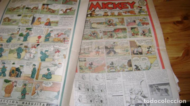 Tebeos: REVISTA MICKEY MOLINO AÑOS 30 LOTE DE SUELTOS VER DESCRIPCION SOFABIBLIO - Foto 18 - 146597654