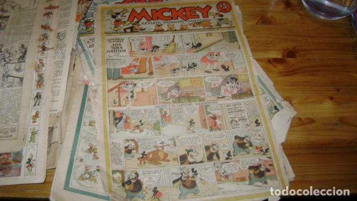 Tebeos: REVISTA MICKEY MOLINO AÑOS 30 LOTE DE SUELTOS VER DESCRIPCION SOFABIBLIO - Foto 20 - 146597654