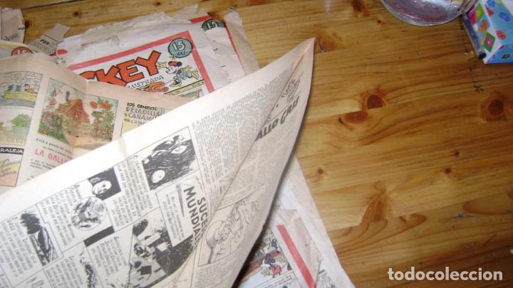 Tebeos: REVISTA MICKEY MOLINO AÑOS 30 LOTE DE SUELTOS VER DESCRIPCION SOFABIBLIO - Foto 22 - 146597654