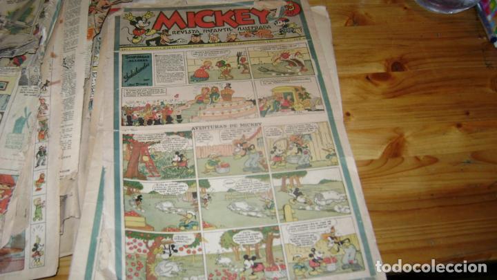 Tebeos: REVISTA MICKEY MOLINO AÑOS 30 LOTE DE SUELTOS VER DESCRIPCION SOFABIBLIO - Foto 25 - 146597654