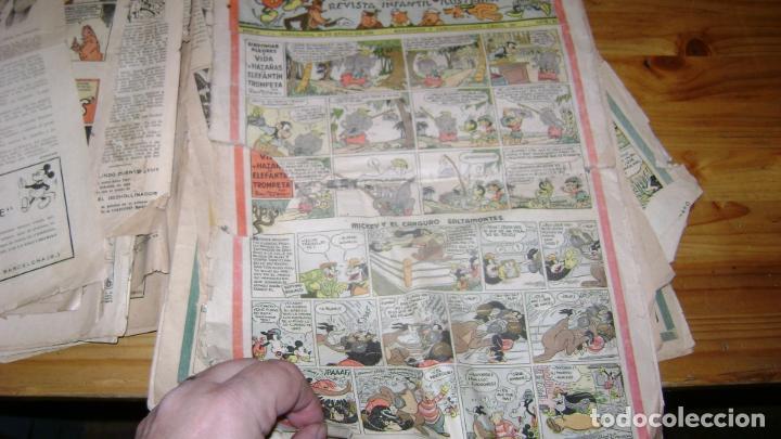 Tebeos: REVISTA MICKEY MOLINO AÑOS 30 LOTE DE SUELTOS VER DESCRIPCION SOFABIBLIO - Foto 29 - 146597654