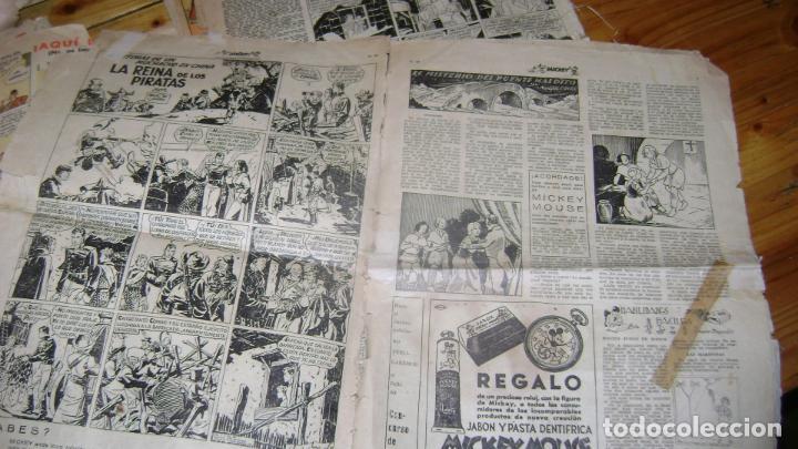 Tebeos: REVISTA MICKEY MOLINO AÑOS 30 LOTE DE SUELTOS VER DESCRIPCION SOFABIBLIO - Foto 40 - 146597654