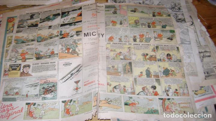 Tebeos: REVISTA MICKEY MOLINO AÑOS 30 LOTE DE SUELTOS VER DESCRIPCION SOFABIBLIO - Foto 45 - 146597654