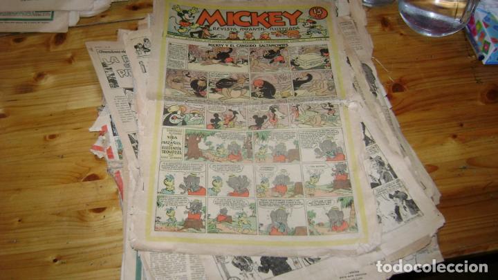 Tebeos: REVISTA MICKEY MOLINO AÑOS 30 LOTE DE SUELTOS VER DESCRIPCION SOFABIBLIO - Foto 48 - 146597654