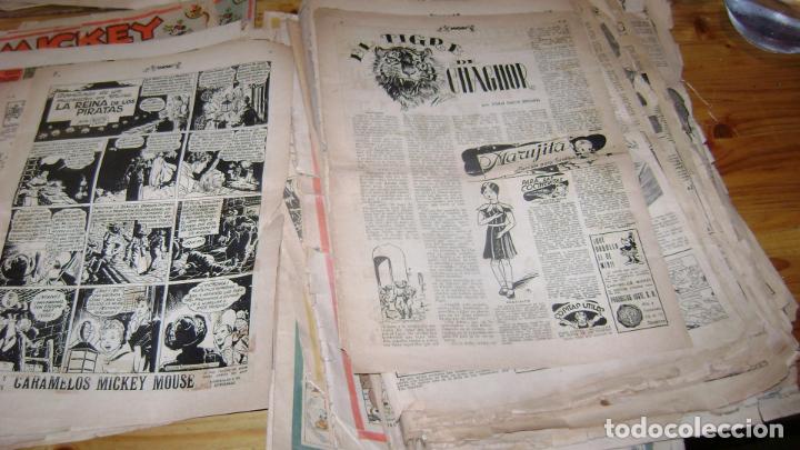 Tebeos: REVISTA MICKEY MOLINO AÑOS 30 LOTE DE SUELTOS VER DESCRIPCION SOFABIBLIO - Foto 52 - 146597654