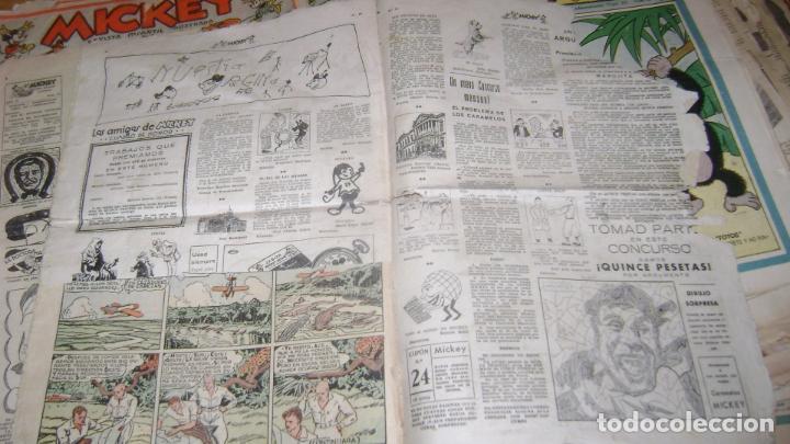 Tebeos: REVISTA MICKEY MOLINO AÑOS 30 LOTE DE SUELTOS VER DESCRIPCION SOFABIBLIO - Foto 53 - 146597654