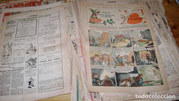 Tebeos: REVISTA MICKEY MOLINO AÑOS 30 LOTE DE SUELTOS VER DESCRIPCION SOFABIBLIO - Foto 54 - 146597654