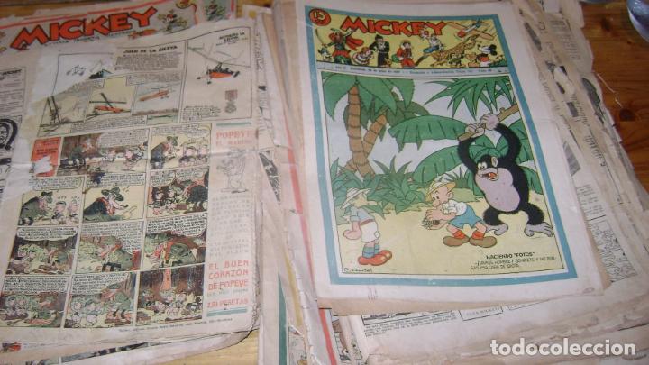Tebeos: REVISTA MICKEY MOLINO AÑOS 30 LOTE DE SUELTOS VER DESCRIPCION SOFABIBLIO - Foto 57 - 146597654