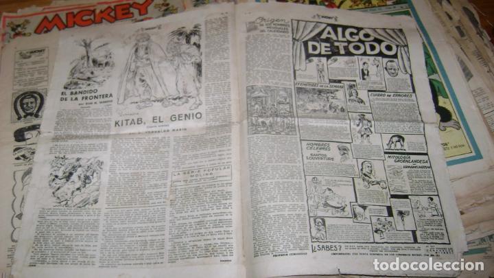 Tebeos: REVISTA MICKEY MOLINO AÑOS 30 LOTE DE SUELTOS VER DESCRIPCION SOFABIBLIO - Foto 58 - 146597654