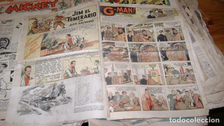 Tebeos: REVISTA MICKEY MOLINO AÑOS 30 LOTE DE SUELTOS VER DESCRIPCION SOFABIBLIO - Foto 60 - 146597654