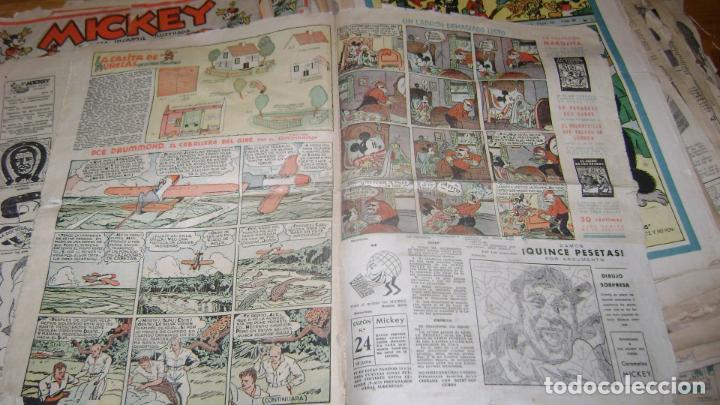 Tebeos: REVISTA MICKEY MOLINO AÑOS 30 LOTE DE SUELTOS VER DESCRIPCION SOFABIBLIO - Foto 64 - 146597654