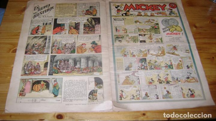 REVISTA MICKEY MOLINO AÑOS 30 NUMERO 4 VER DESCRIPCION SOFABIBLIO (Tebeos y Comics - Molino)