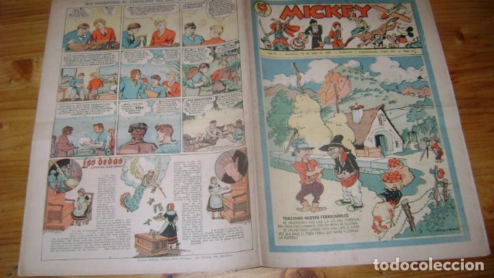REVISTA MICKEY MOLINO AÑOS 30 NUMERO 72 VER DESCRIPCION SOFABIBLIO7 (Tebeos y Comics - Molino)
