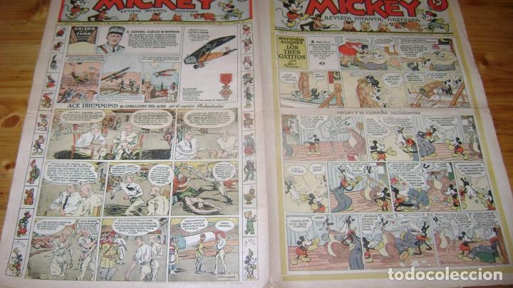 REVISTA MICKEY MOLINO AÑOS 30 NUMERO 36 VER DESCRIPCION SOFABIBLIO7 (Tebeos y Comics - Molino)