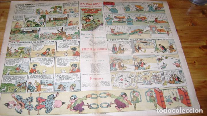 Tebeos: REVISTA MICKEY MOLINO AÑOS 30 NUMERO 36 VER DESCRIPCION SOFABIBLIO7 - Foto 2 - 146597814