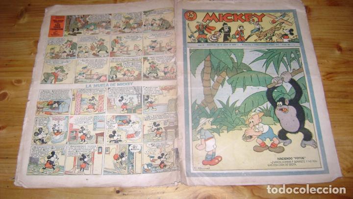 REVISTA MICKEY MOLINO AÑOS 30 NUMERO 68 VER DESCRIPCION SOFABIBLIO7 (Tebeos y Comics - Molino)