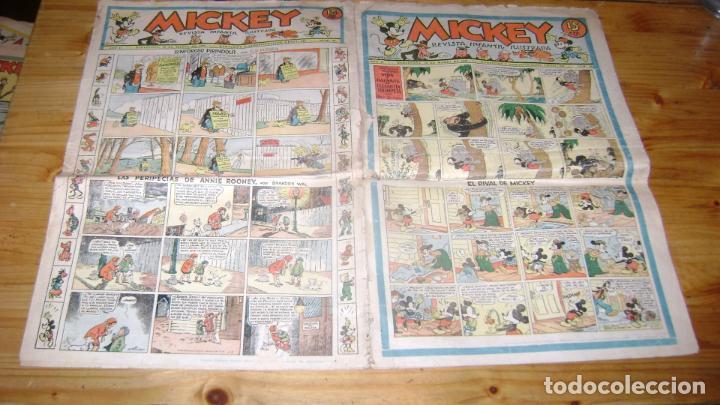 REVISTA MICKEY MOLINO AÑOS 30 NUMERO 54 VER DESCRIPCION SOFABIBLIO7 (Tebeos y Comics - Molino)