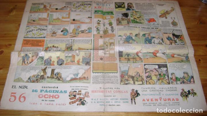 Tebeos: REVISTA MICKEY MOLINO AÑOS 30 NUMERO 54 VER DESCRIPCION SOFABIBLIO7 - Foto 2 - 146597854