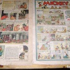 Tebeos: REVISTA MICKEY MOLINO AÑOS 30 NUMERO 4 VER DESCRIPCION SOFABIBLIO7. Lote 146597866