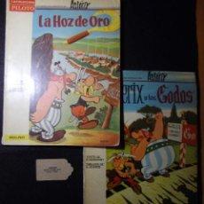 Tebeos: LOTE DE 2 NÚMEROS DE LA COLECCIÓN PILOTO DE ASTERIX. LA HOZ DE ORO Y LOS GODOS. 1966. Lote 150500486