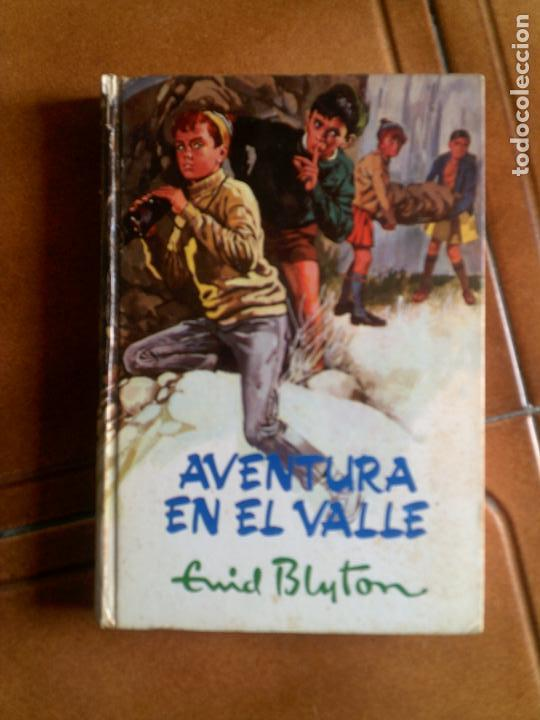 NOVELA DE ENID BLYTON ,AVENTURA EN EL VALLE EDITORIAL MOLINO 1969 (Tebeos y Comics - Molino)