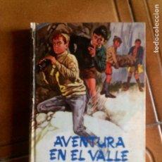 Tebeos: NOVELA DE ENID BLYTON ,AVENTURA EN EL VALLE EDITORIAL MOLINO 1969. Lote 153626238