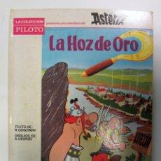 Tebeos: ASTERIX Y OBELIX. LA HOZ DE ORO. UDERZO Y GOSCINNY. TAPA DURA. ED. MOLINO 1966.. Lote 155583610