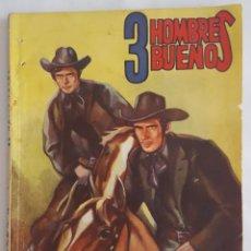 Tebeos: NOVELA OESTE / 3 HOMBRES BUENOS / EL NAIPE FATAL / EDITORIAL MOLINO Nº 50 1947. Lote 156526086