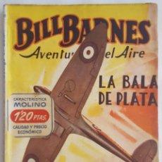 Tebeos: NOVELA AVENTURERO DEL AIRE-BILL BARNES-LA BALA DE PLATA-GEORGE L. EATON-EDITORIAL MOLINO Nº 58. Lote 156579022