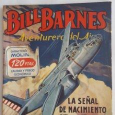 Tebeos: NOVELA AVENTURERO DEL AIRE-BILL BARNES-LA SEÑAL DE NACIMIENTO-GEORGE L.EATON-EDITORIAL MOLINO Nº 132. Lote 156580898