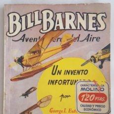 Tebeos: NOVELA AVENTURERO DEL AIRE-BILL BARNES-UN INVENTO INFORTUNADO-GEORGE L.EATON-EDITORIAL MOLINO Nº 156. Lote 156583590
