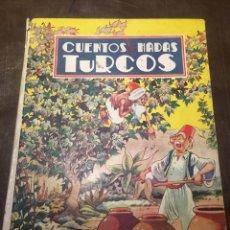 Livros de Banda Desenhada: CUENTOS DE HADAS TURCOS ILUSTRACIONES A MORENO. Lote 158206725