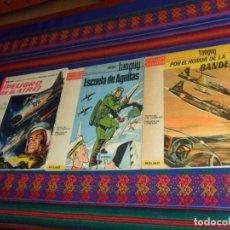 Tebeos: MICHEL TANGUY ESCUELA DE ÁGUILAS, POR EL HONOR LA BANDERA. MOLINO 1965. REGALO PELIGRO EN EL AIRE.. Lote 159600442