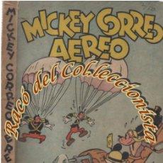 Tebeos: MICKEY CORREO AEREO, WALT DISNEY, EDITORIAL MOLINO, 1934. Lote 160397378