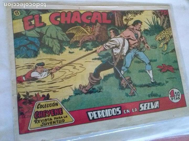 EL CHACAL Nº15- MARCO ,ORIGINAL (Tebeos y Comics - Molino)