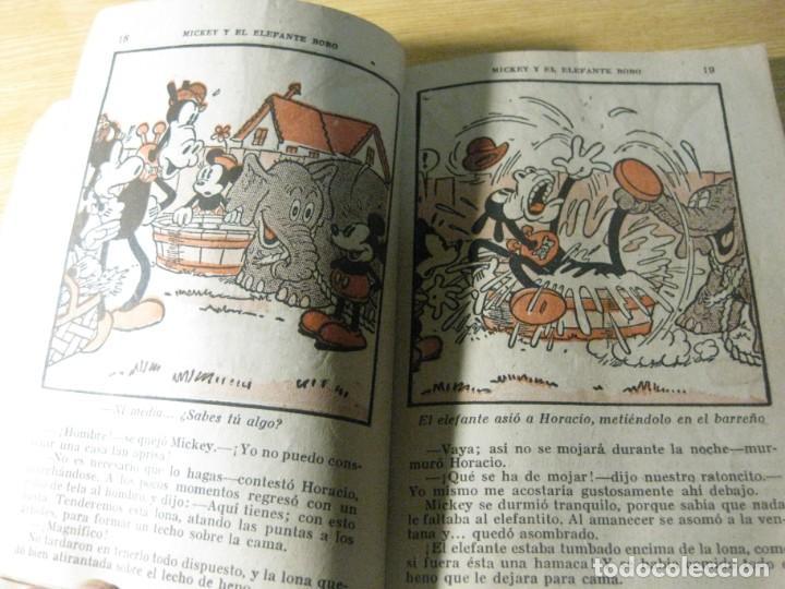 Tebeos: mickey y el elefante bobo . walt disney . ed molino 1936 desperfectos - Foto 4 - 163768914