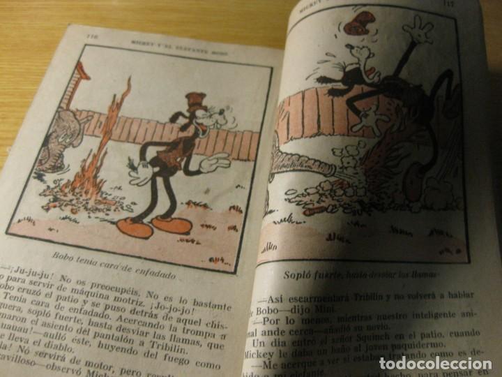 Tebeos: mickey y el elefante bobo . walt disney . ed molino 1936 desperfectos - Foto 6 - 163768914