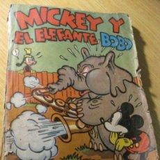 Tebeos: MICKEY Y EL ELEFANTE BOBO . WALT DISNEY . ED MOLINO 1936 DESPERFECTOS. Lote 163768914