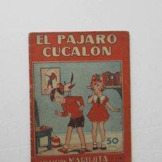 Tebeos: EL PAJARO CUCALON - COLECCION MARUJITA. Lote 164454246