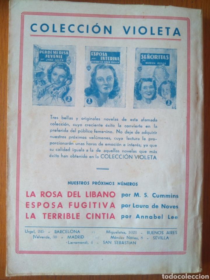 Tebeos: UN HOMBRE INTERESANTE POR REGINA FLAVIO -COLECCIÓN VIOLETA. Editorial molino 1942 - Foto 2 - 164598856
