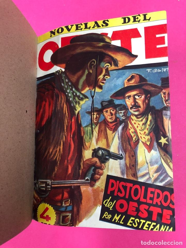 Tebeos: Novelas del oeste encuadernadas - ver foto - Foto 2 - 166438368