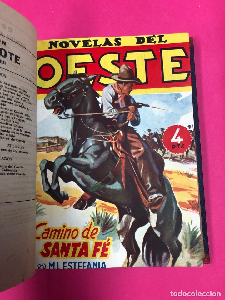 Tebeos: Novelas del oeste encuadernadas - ver foto - Foto 3 - 166438368
