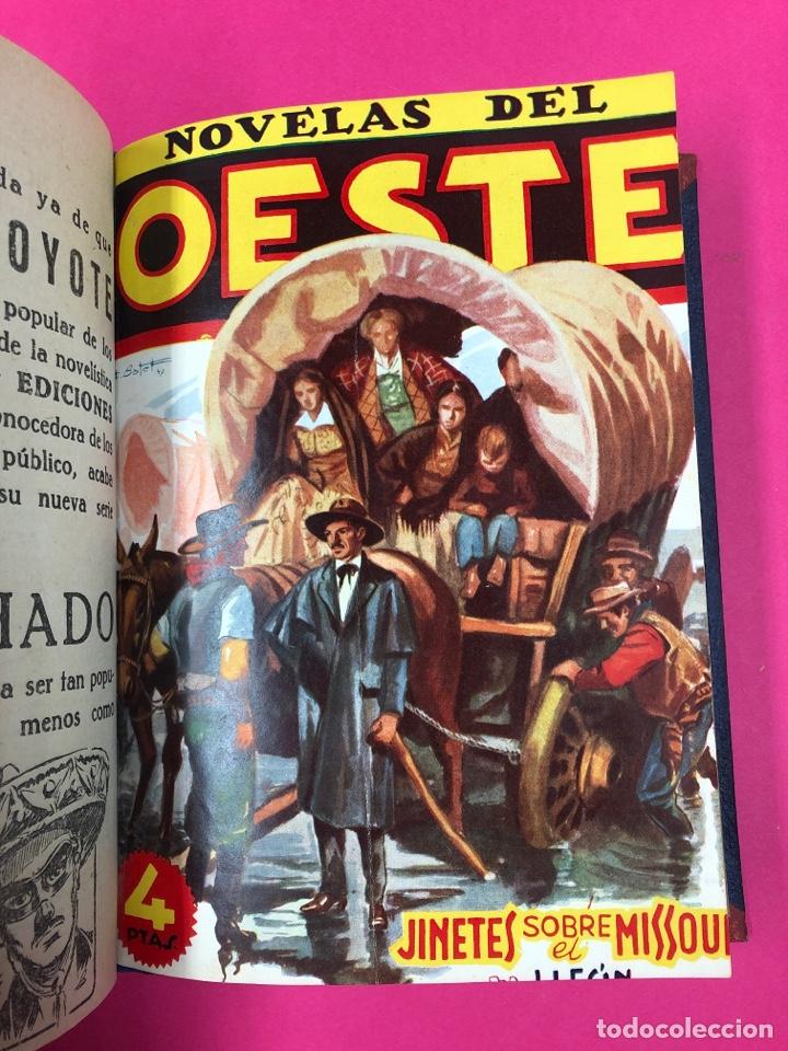 Tebeos: Novelas del oeste encuadernadas - ver foto - Foto 4 - 166438368