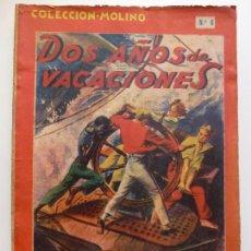 Tebeos: DOS AÑOS DE VACACIONES. JULIO VERNE. COLECCIÓN MOLINO Nº 6.. Lote 168050664