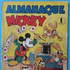 Tebeos: ALMANAQUE MICKEY , MOLINO , DISNEY , 1936 , ORIGINAL. Lote 170973482