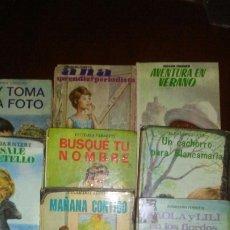 Livros de Banda Desenhada: LOTE DE 10 TOMOS DE COLECCION VIOLETA ,AÑOS 60 .. Lote 174257025