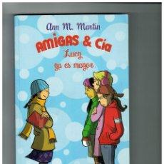 Livros de Banda Desenhada: AMIGAS & CÍA -LUCY YA ES MAYOR- NOVELA GRÁFICA DE RAINA TELGEMEIER. 1ª EDICIÓN: MAYO 2008.. Lote 177204923