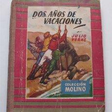 Tebeos: DOS AÑOS DE VACACIONES. JULIO VERNE. COLECCIÓN MOLINO. EDITORIAL MOLINO, 1953 . Lote 177209877