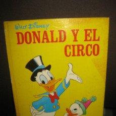 Tebeos: DONALD Y EL CIRCO. CUENTOS DE WALT DISNEY EN COLOR Nº 1. MOLINO, 1971. Lote 177411915